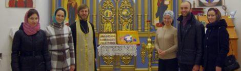 Совместная молитва с молодёжью поселка Ува