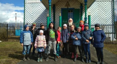 Проект «Удмуртский рождественский вертеп» в пасхальные дни!