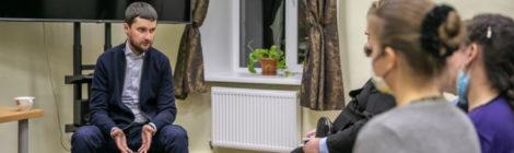 Встреча с руководителем координационного центра молодёжной работы по Центральному Федеральному округу Вадимом Степановым