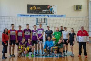 Турнир по волейболу, посвященный дню трезвости